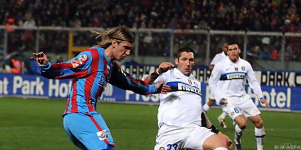 Inter verlor ohne Arnautovic gegen Catania 1:3
