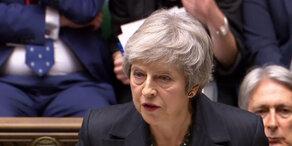 Brexit: May verteidigt Vertragsentwurf