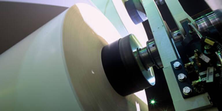 Schwere Delle für die Papierindustrie