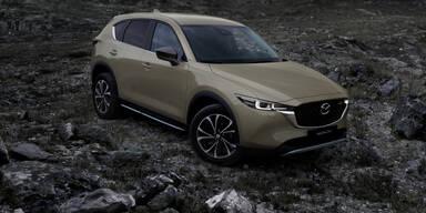 Aufgewerteter Mazda CX-5 startet in drei Editionen