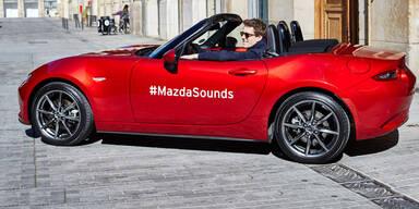 Mazda MX-5 bei den absoluten Star-DJs