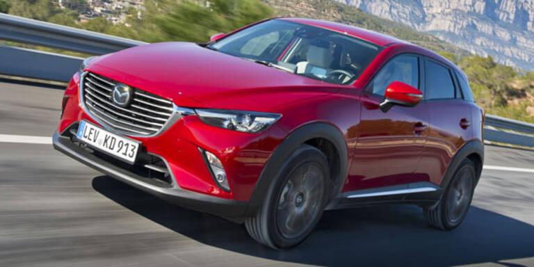 Mazda CX-3: Alle Österreich-Infos