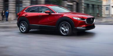 """Mazda CX-30: Neuer Benziner und verbesserter """"Diesotto"""""""