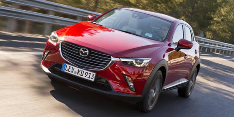 Mazda CX-3: Alle Preise & Ausstattungen