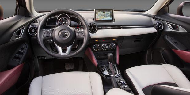 Mazda Cx 3 G150 Awd Im Test