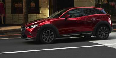 Zweites Facelift für den Mazda CX-3