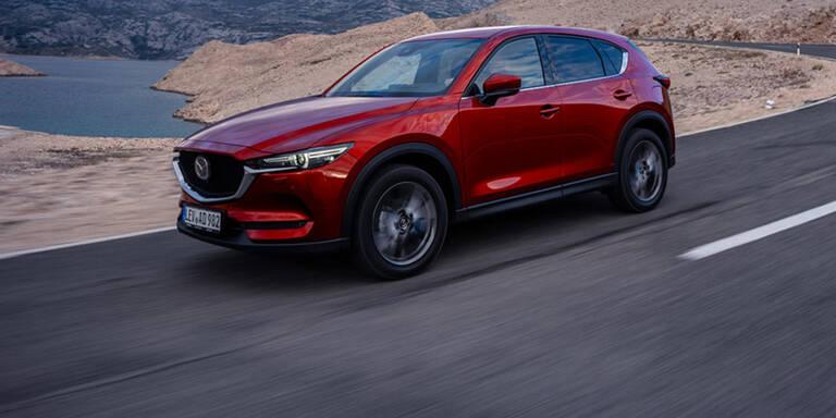 Mazda bringt neues CX-5 Top-Modell
