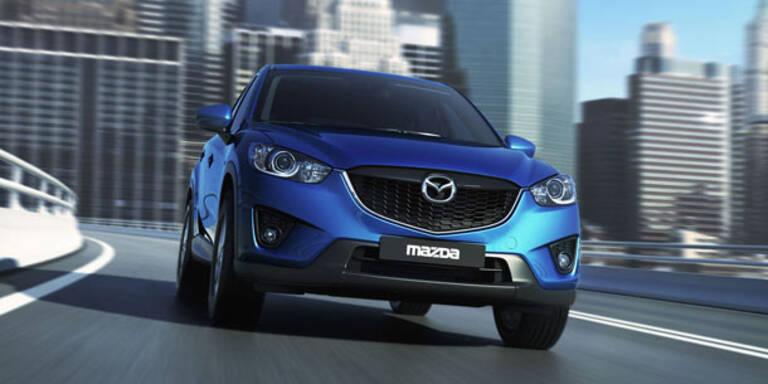 Weltpremiere des Mazda CX-5