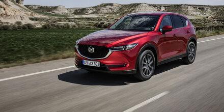 Mazda CX-5 jetzt mit neuem Top-Motor