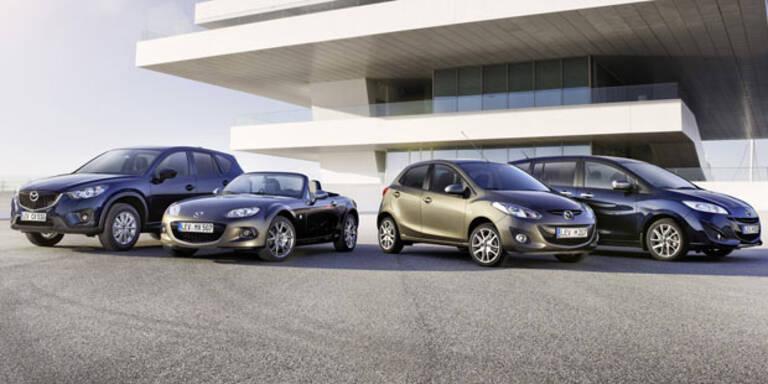 Mazda verschenkt neun Neuwagen