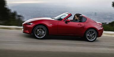 Mazda schickt den MX-5 RF ins Rennen