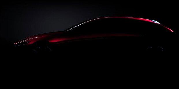 Neuer Mazda3 und erster