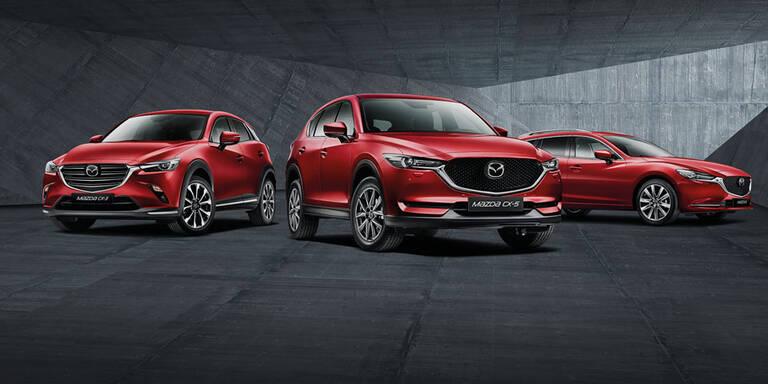 """""""Sorglos""""-Paket für Mazda6, CX-3 und CX-5"""