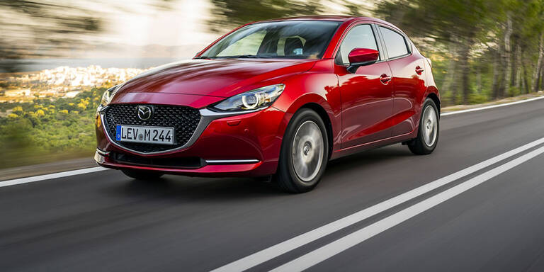 Facelift-Version des Mazda2 startet