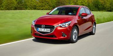 Aufgefrischter Mazda2 geht an den Start