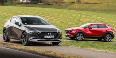 Mazda3 und CX-30 werden günstiger