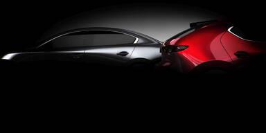 Neuer Mazda3 kommt in zwei Karosserievarianten
