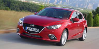 Sparsamster Mazda3 aller Zeiten startet