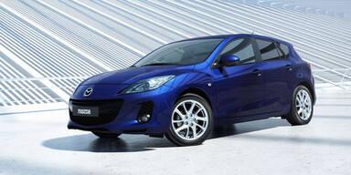 Preisvorteil beim Mazda3 und Mazda2