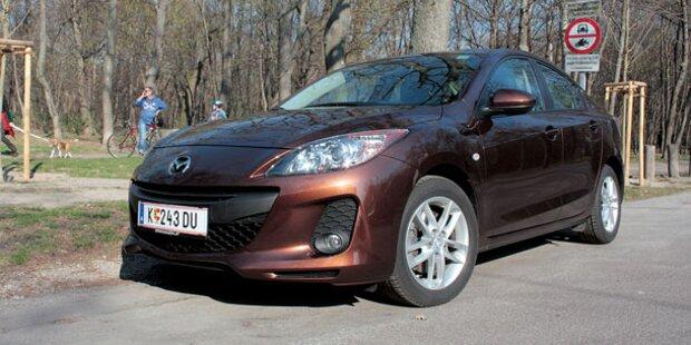 Mazda3 mit neuem i-Stop im Test