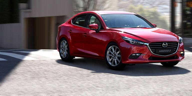 Facelift für Mazda3 und Mazda6