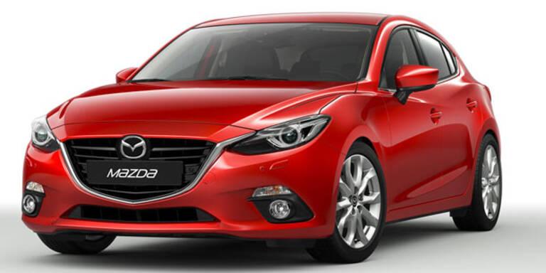 Mazda3 Hybrid und mit Erdgasantrieb
