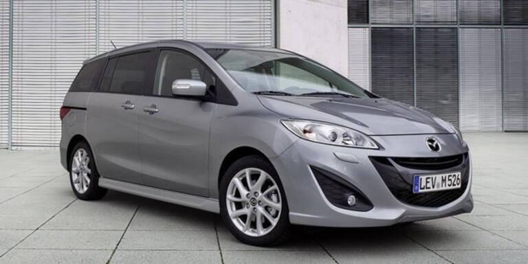 Mazda5 bekommt ein Mini-Facelift