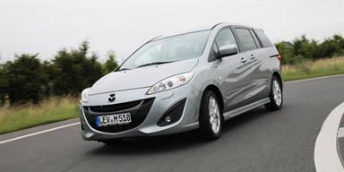 Nun startet der neue Mazda 5 in Österreich
