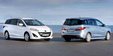 Jetzt startet der neue Mazda5 CD116