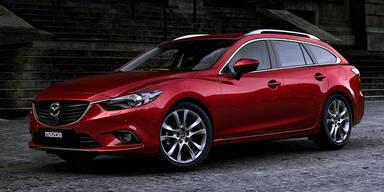 Weltpremiere des Mazda6 Sport Combi