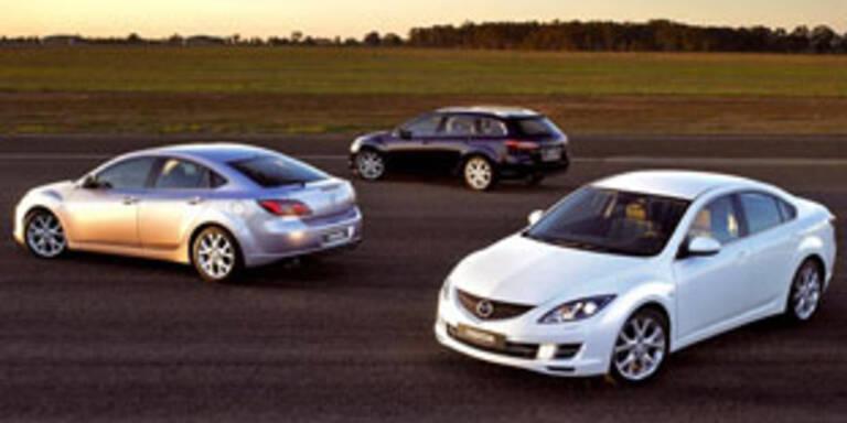 Erste Bilder des neuen Mazda6