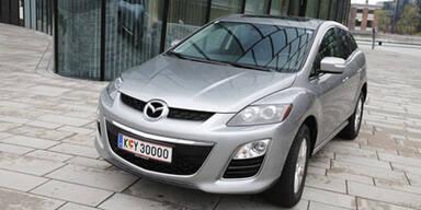 Mazda CX-7 mit Dieselmotor im Test