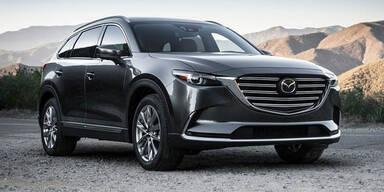 Mazda greift mit dem neuen CX-9 an