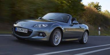 Mazda feiert 25 Jahre Kult-Roadster MX-5