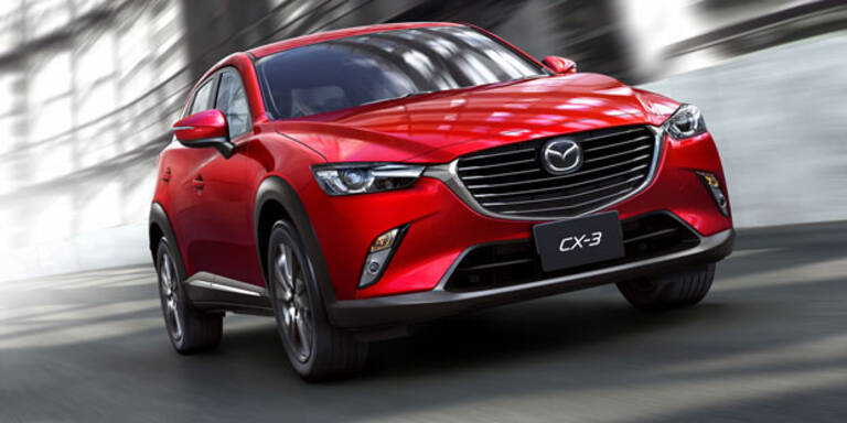 Mazda CX-3 feiert Weltpremiere