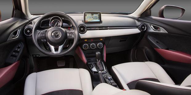 Mazda Cx 3 Feiert Weltpremiere