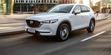 Mazda CX-5: Facelift und neue Sondermodelle