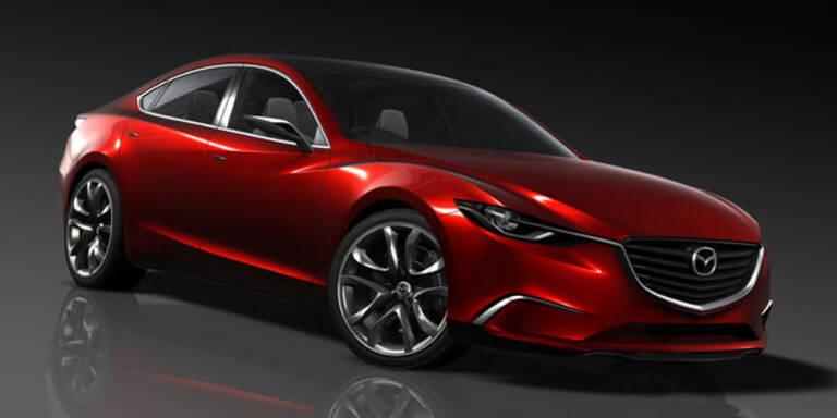 Weltpremiere der Mazda-Studie Takeri