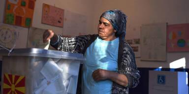 Mazedonien Wahl