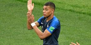 Frankreich: Viertes Tor gegen Kroatien