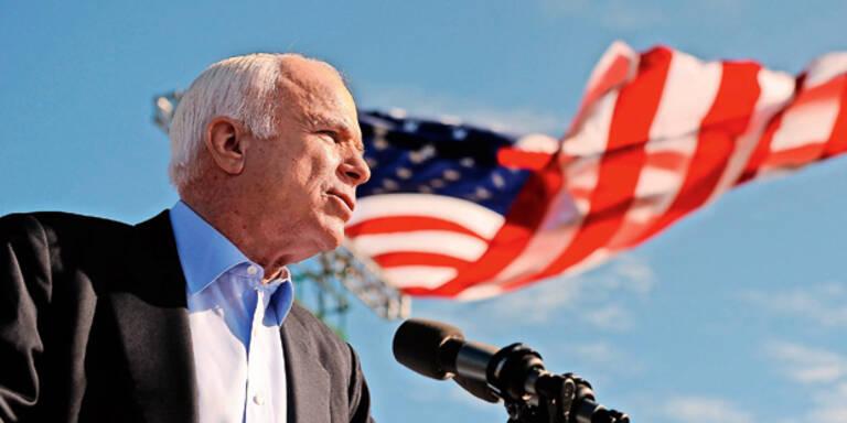 """Trump bei McCains Trauerfeier """"unerwünscht"""""""