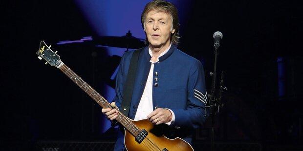 McCartney: Nach 36 Jahren wieder Platz 1
