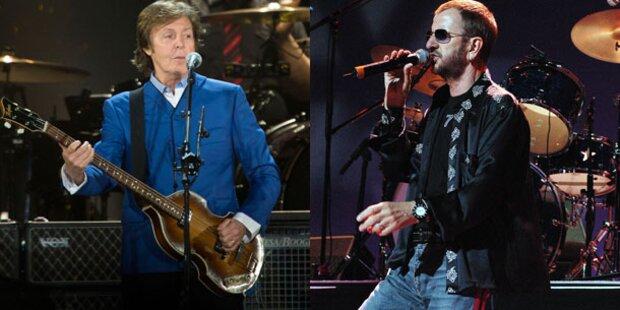 Paul McCartney und Ringo Starr begeistern bei Grammy-Gala