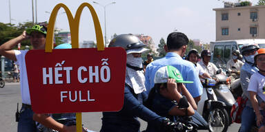 Asiaten bekommen Hunger auf McDonald's