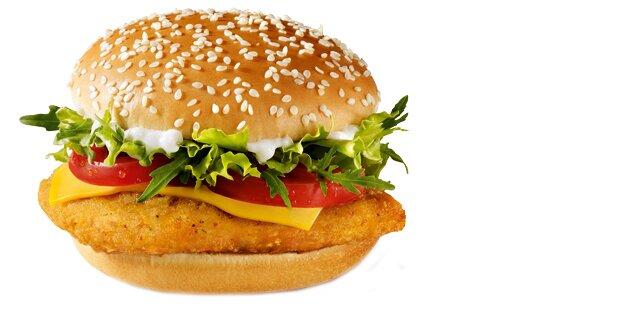 Fleischlose Burger bei McDonald's