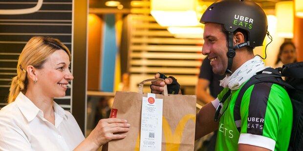 McDonald's startet neuen Lieferservice