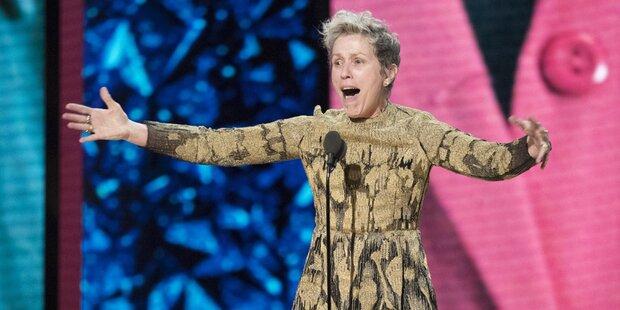 Oscar-Rede: McDormand ließ Netz rätseln