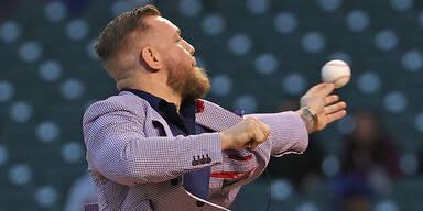 UFC-Star McGregor mit Baseball-Blamage