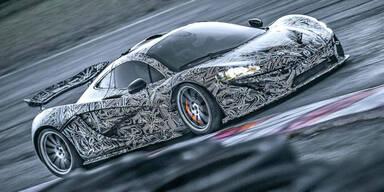 Video: McLaren P1 als Prototyp auf Testfahrt