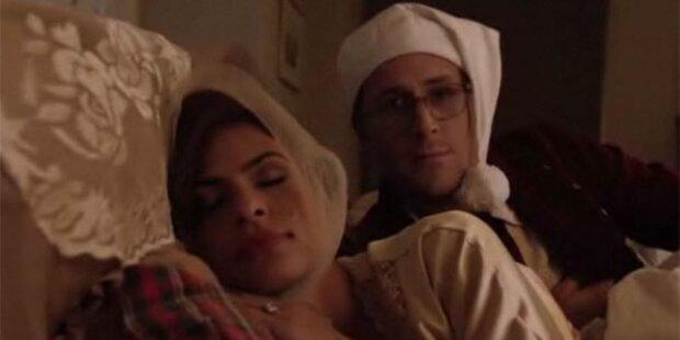 Im Bett mit Ryan Gosling und Eva Mendes